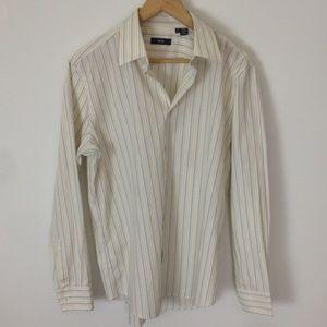 Hugo Boss Striped Multi-Color Dress Shirt 16